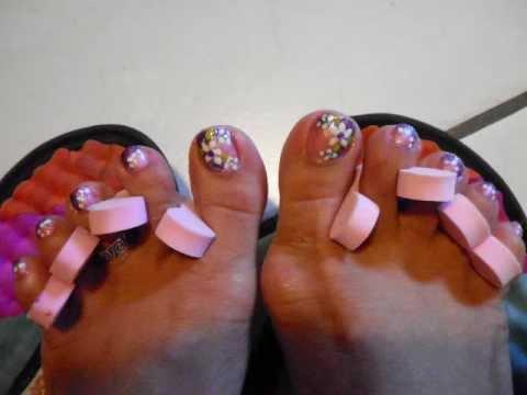 Diseño de uñas para pies 1