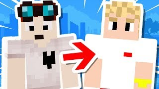 We Joined TEAM 10 in Minecraft..