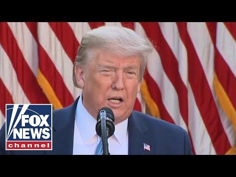 Trump attacks Dems