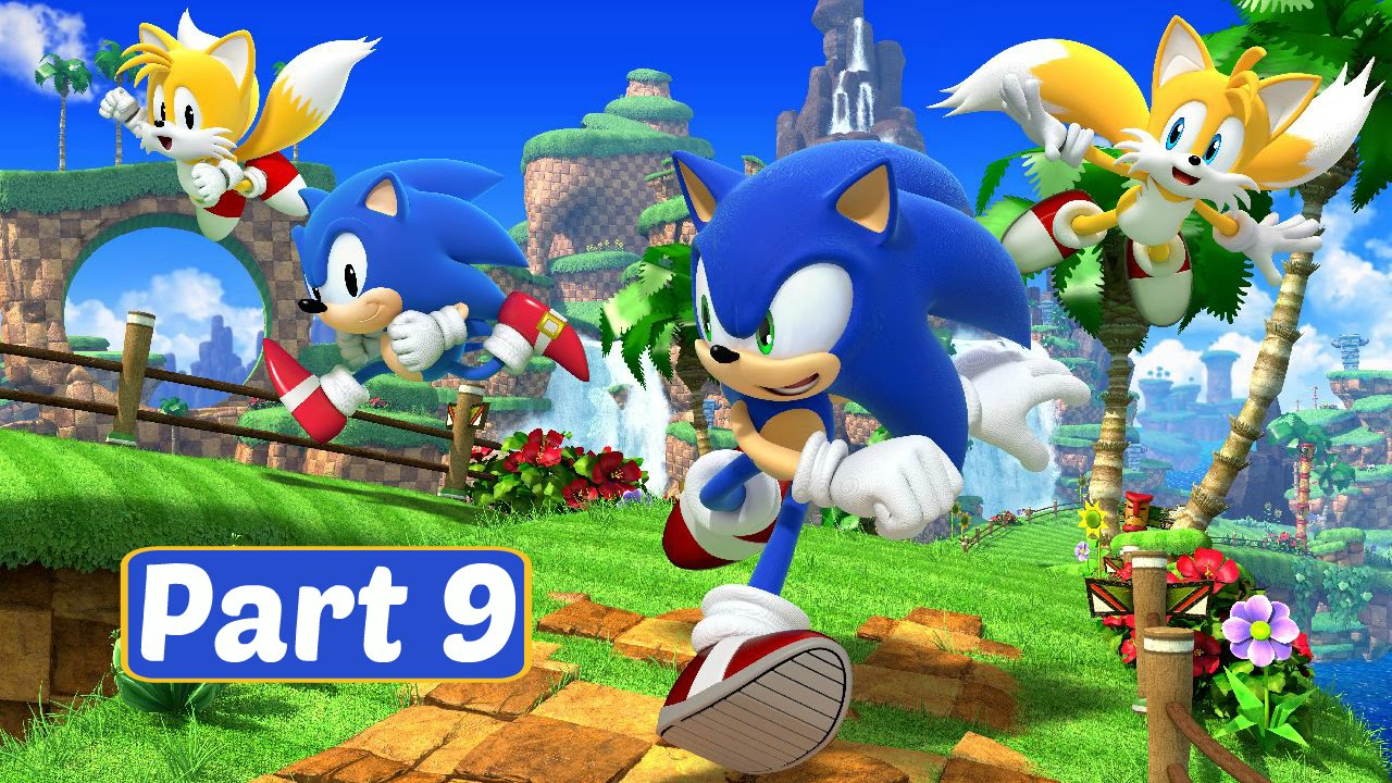 Sonic Generations 3DS - Part 2 Casino Night Zone (1080p ...  |Sonic Generations 2 Player Mode