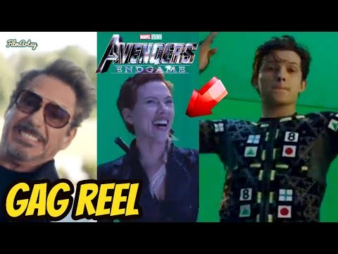 Avengers: Endgame Hilarious Bloopers and Gag Reel | Funny Outtakes