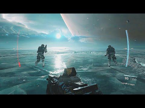SCAR Raid On Jupiter II - Call Of Duty Infinite Warfare