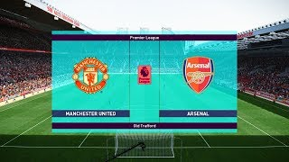 Manchester United vs Arsenal | Premier League 05/12/2018 Gameplay