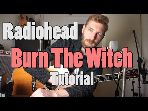 Radiohead - Burn the Witch | Guitar tutorial | Lesson | Chords