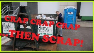 DUMPSTER DIVING!! #35 We had to wait for it to get good