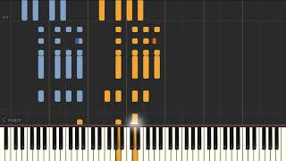 La Cumparsita (Alberto Neuman) - Piano tutorial