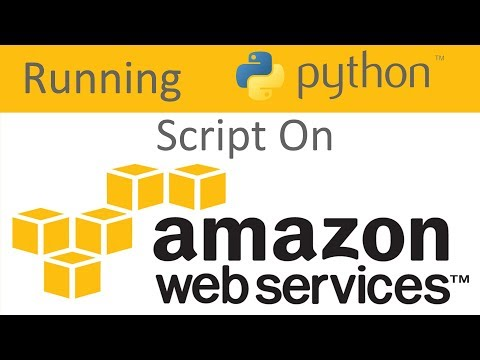 How To Run Your Python Code Off of Amazon Web Services