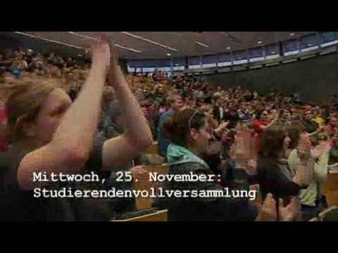 Studentenprotest an der TU Dortmund - Rückblick