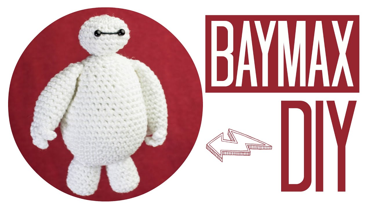 Baymax Häkeln Do It Yourself Amigurumi Disney Woche Youtube