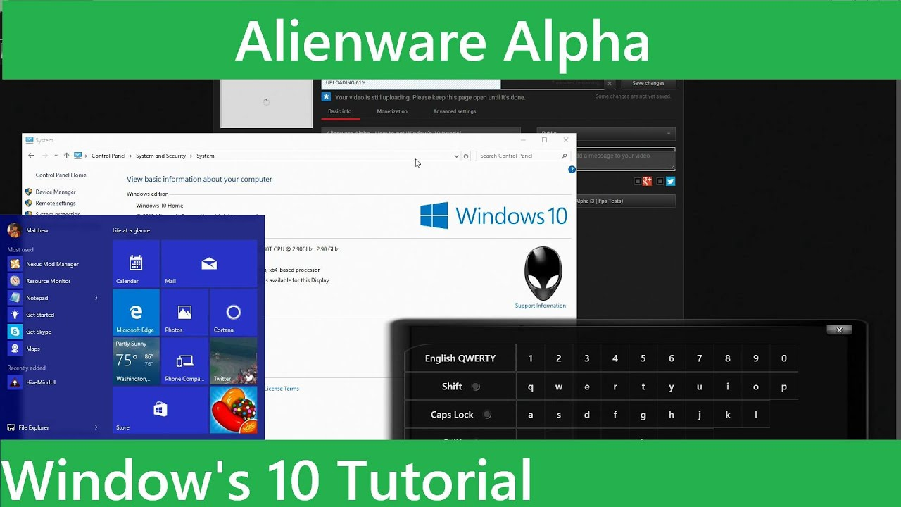 Alienware Alpha Drivers Windows 10