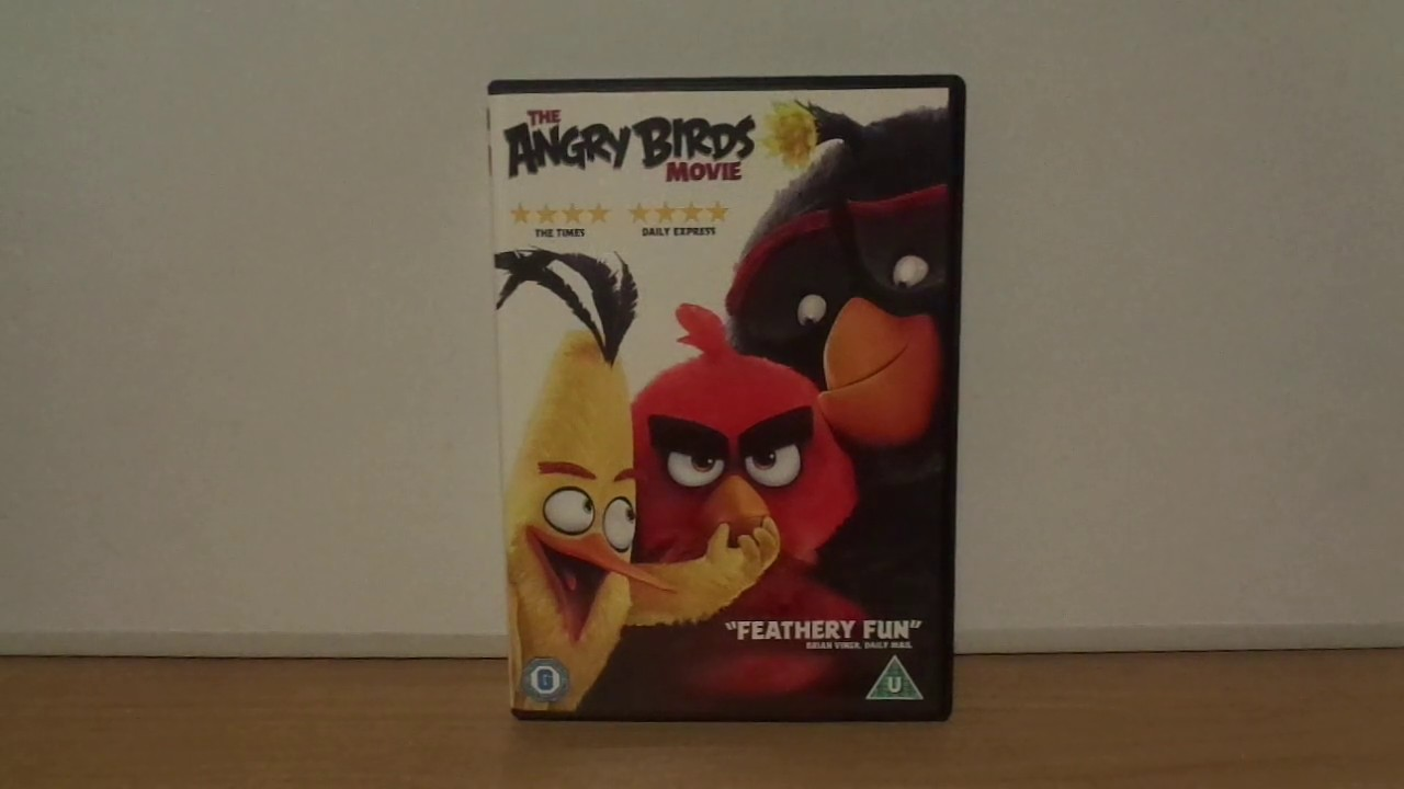 The Angry Birds Movie Uk Dvd Unboxing New Version Youtube