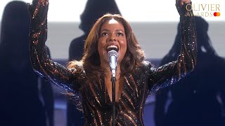 Tina The Tina Turner Musical performance at the Olivier Awards 2019 with Mastercard