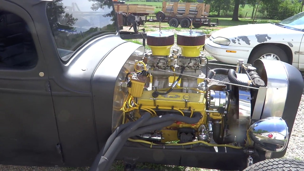 37 Chevy Rat Rod Hot Rod Truck Tunnel Ram Youtube