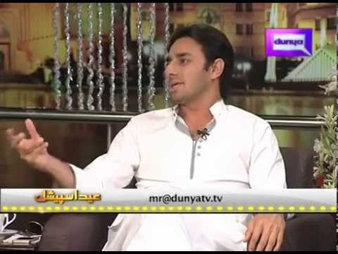 Saeed Ajmal with Mehwish Hayat Funny Talk Show