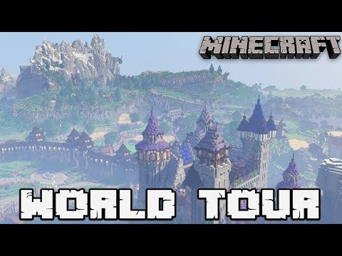 Building With FWhip : WORLD TOUR + DOWNLOAD #175 MINECRAFT 1.13.2 Let's Play Survival