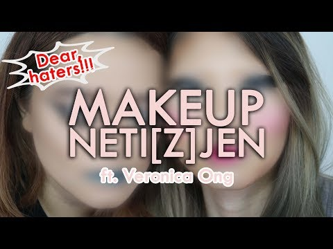 HATERS MAKEUP CHALLENGE with Veronica Ong