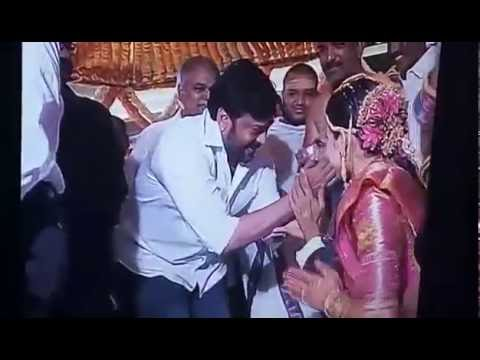 Director Krish Marriage - Attended By Mega Star Chiranjeevi and Other Celebrities
