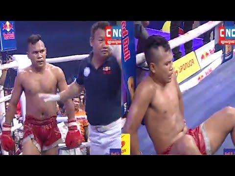 Roeung Sophorn vs Niv Vangchan(thai), Khmer Boxing CNC 17 June 2017, Kun Khmer vs Muay Thai