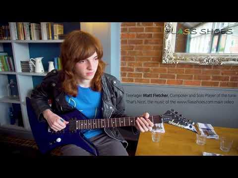 Young Matt Fletcher composer and solo Guitar player