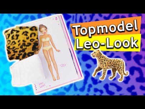 TOPModel malen | Outfit aus Stoff für Model Talita | TOPModel by depesche | Einfaches DIY für Kids