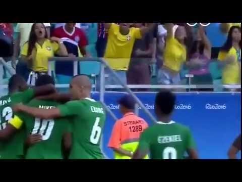Highlights Rio 2016 Nigeria 2   0 Denmark