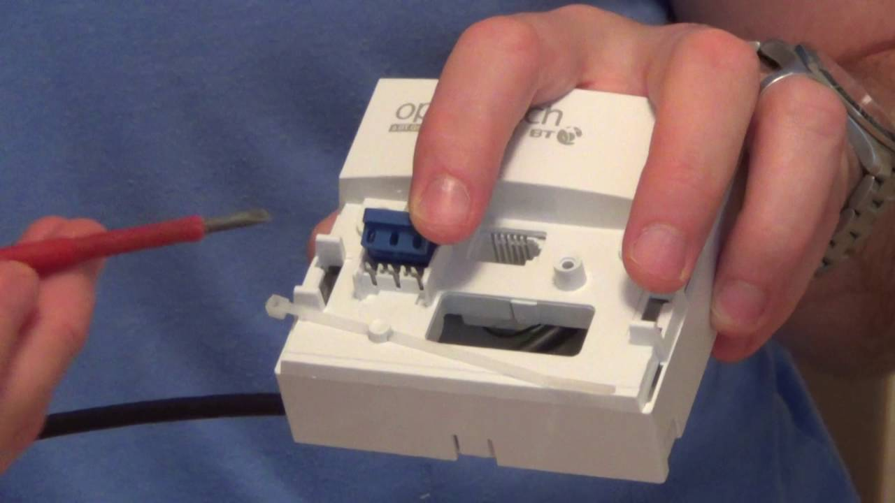 How To install a telephone extension on a BT Openreach