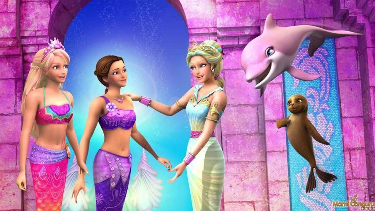 barbie vida de sereia 2 barbie mermaid life 2 game youtube