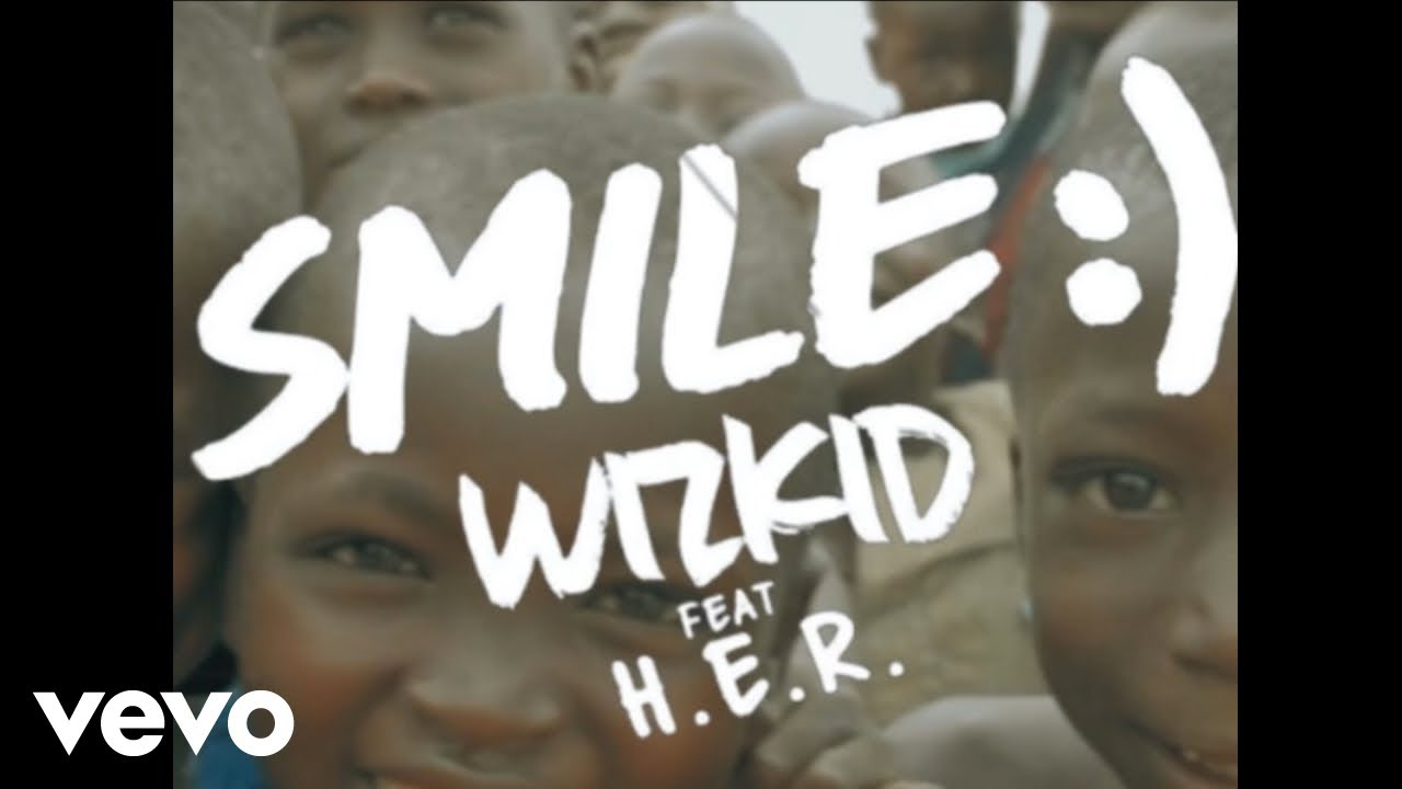 WizKid - Smile (Vertical Lyric Video) ft. H.E.R.