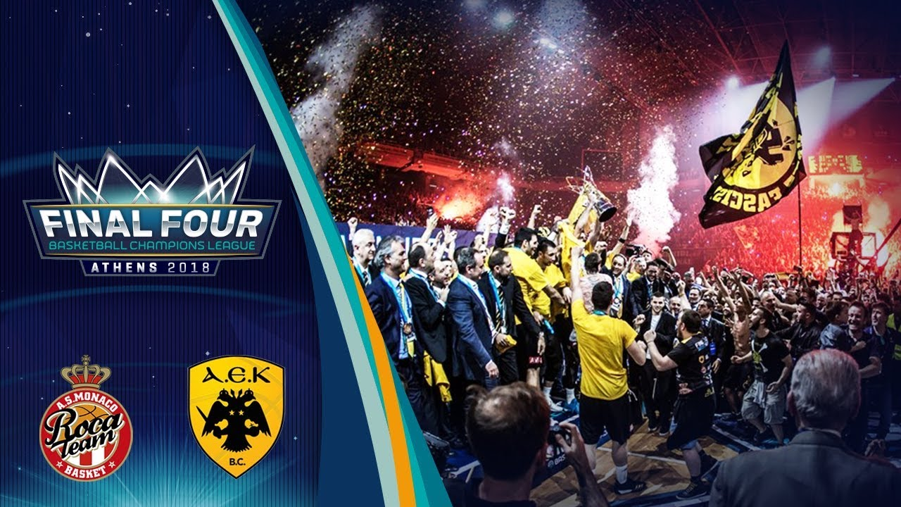 AS Monaco v AEK - Final - Full Game - Basketball Champions League 2017