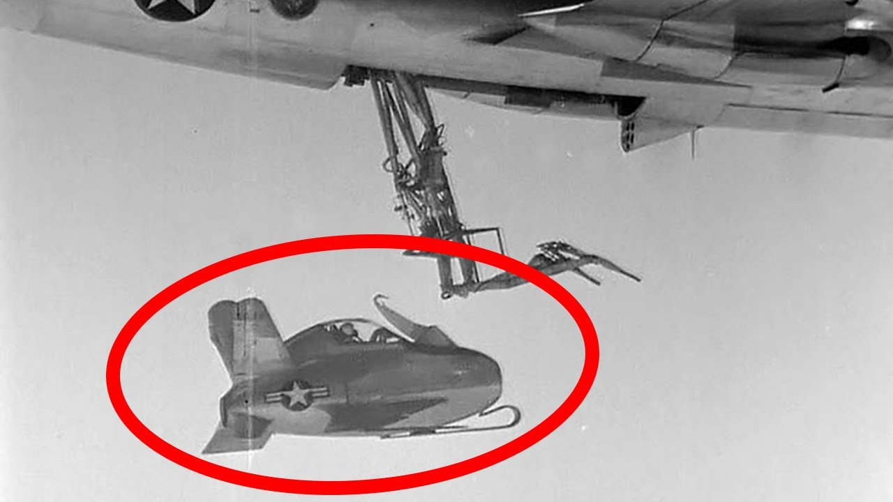 Parasite - The Most Bizarre US Air Force Aircraft Ever Tested - XF-85 Goblin