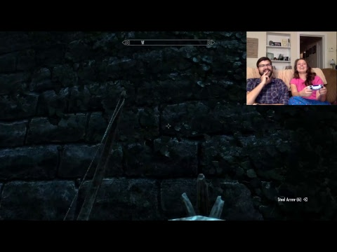 SSD Game Night: Skyrim With A Rookie!