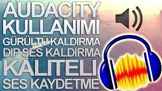 Auda City - Gürültü Kaldırma - Dip Ses Kaldırma - Kaliteli Ses Kaydetme [ TÜRKÇE ]