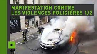 Manifestation contre les violences policières à Paris (Direct du 18.05.16)