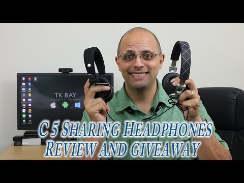 C5 Music Sharing headphones for $23 Review and Giveaway (US Only)