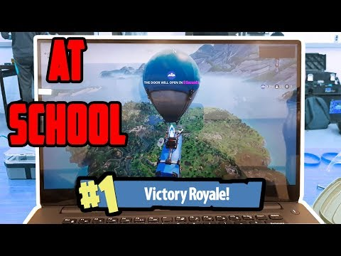 HOW TO TO PLAY FORTNITE AT SCHOOL?! (EASY TUTORIAL) - YouTube