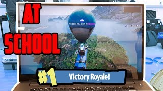 How To To Play Fortnite At School?! (easy Tutorial)