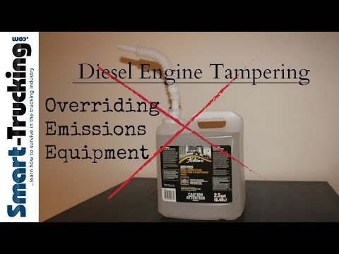 Diesel Engine Tampering - Overriding New Trucks Emissions Controls Dilemma