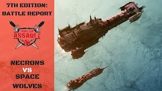 Necrons vs Space Wolves 1500pts Battle Report