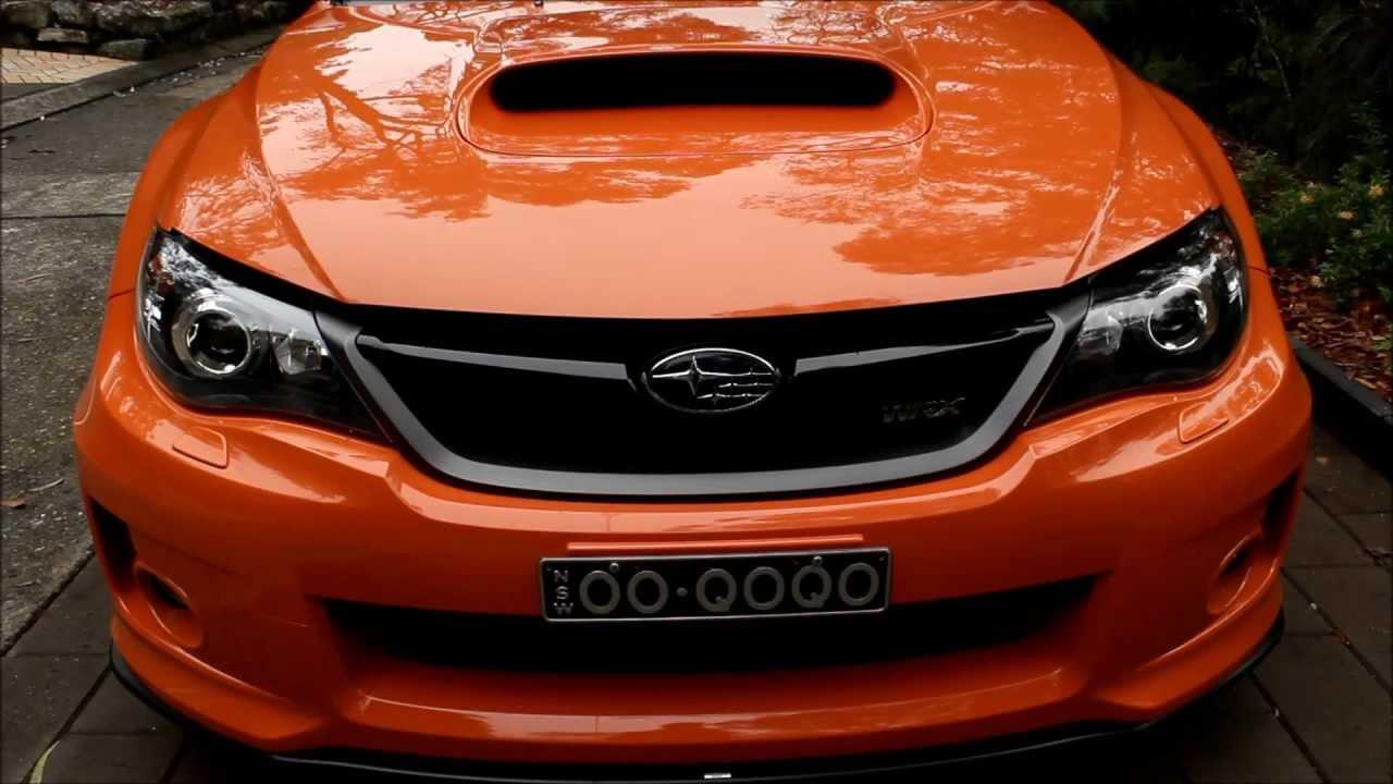 Teaser Subaru WRX Club Spec 11 MY13  YouTube