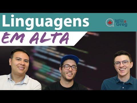 Linguagens de programação em alta no Canadá ft Programador Br