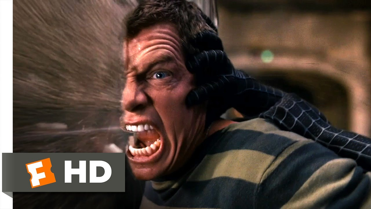 Spider-Man 3 (2007) - Sandman Subway Fight Scene (3/10 ...