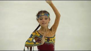 Выступление 12 летней Ани Щербаковой Одна из интереснейших программ с любопытными элементами