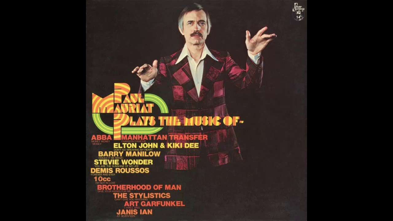 Paul Mauriat Plays The Music Of Youtube