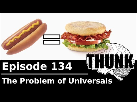 THUNK - 134. The Problem of Universals