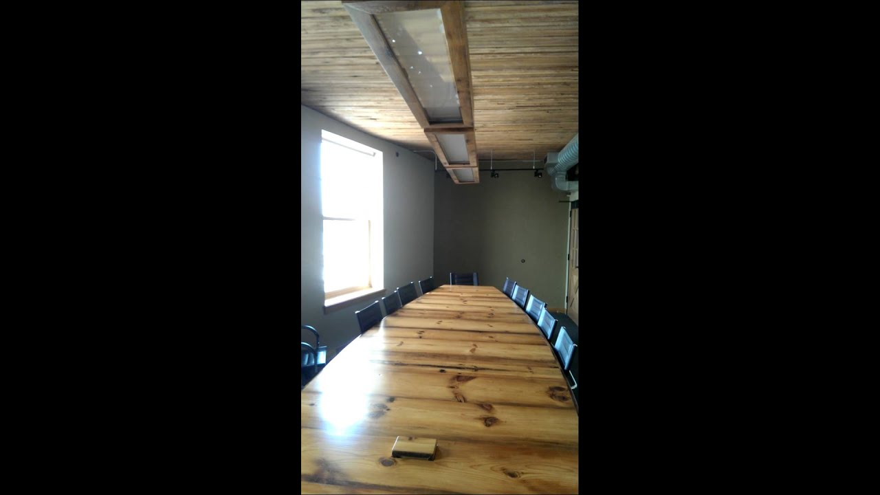 Conference Table Build YouTube - Build a conference table