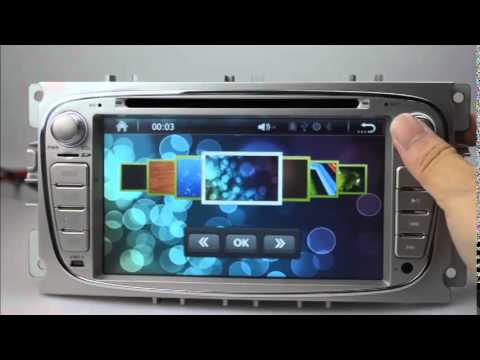 ford focus 2 din dvd player ford focus gps navigation tv ford focus autoradio dvd bluetooth. Black Bedroom Furniture Sets. Home Design Ideas