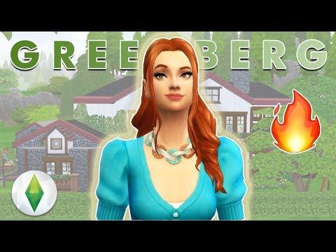 KÜÇÜK KIZIM ARTIK KÜÇÜK DEĞİL :') Greenberg Ailesi#4 (Sezon 2) The Sims 4 Türkçe
