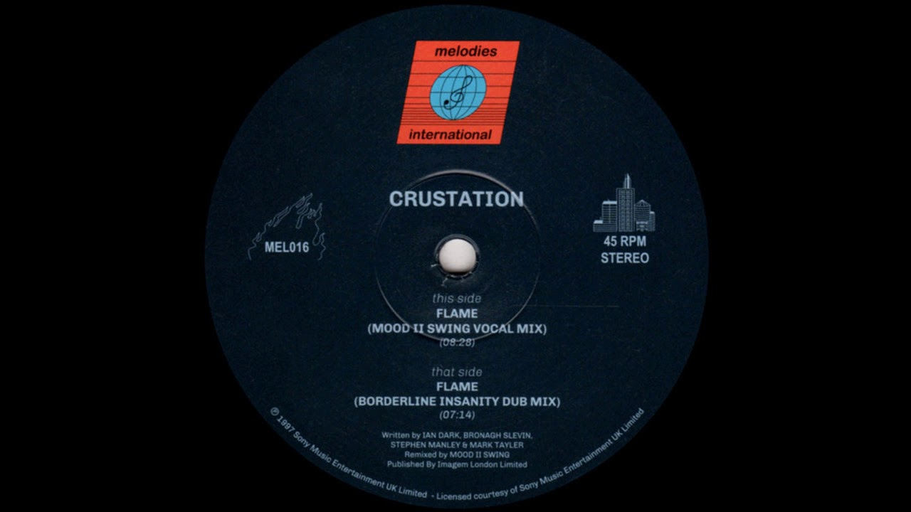 Download Crustation Featuring Bronagh Slevin - Flame (Mood II Swing Vocal Mix)