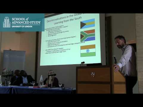 Human Rights, Sexual Orientation & Gender Identity in The Commonwealth: Dr Matthew Waites