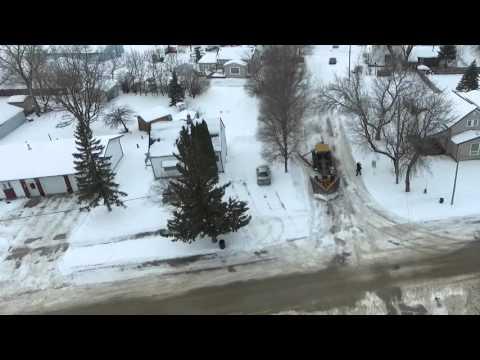 St. Jean Baptiste Manitoba - Snow Removal